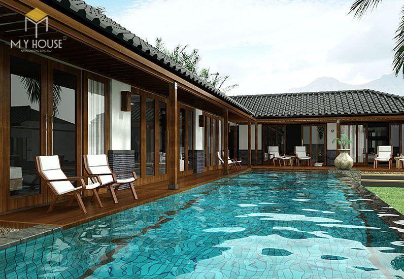 Tiêu chuẩn thiết kế Resort thứ hai mà khu nghỉ dưỡng cần đạt được đó là chất lượng tiện nghi