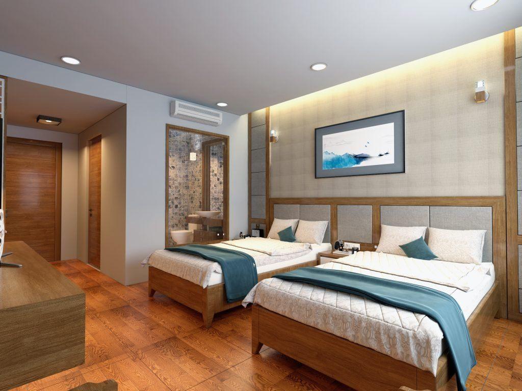Phòng ngủ khách sạn - View 1