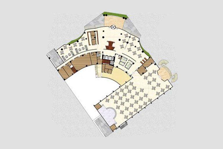 Cách vẽ sơ đồ công năng khách sạn