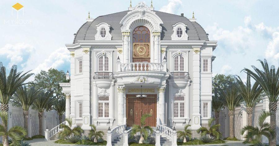 Thiết kế lâu đài dinh thự đẹp - Mẫu 7