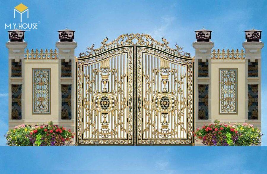 Thiết kế cổng lâu đài 11