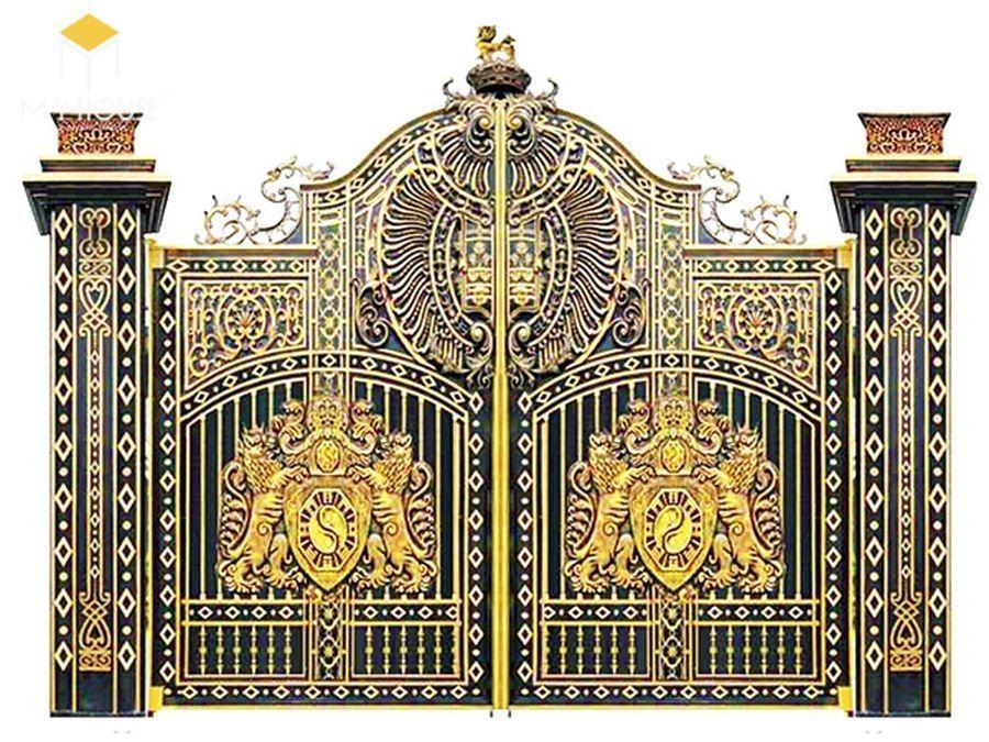 Thiết kế cổng lâu đài 12