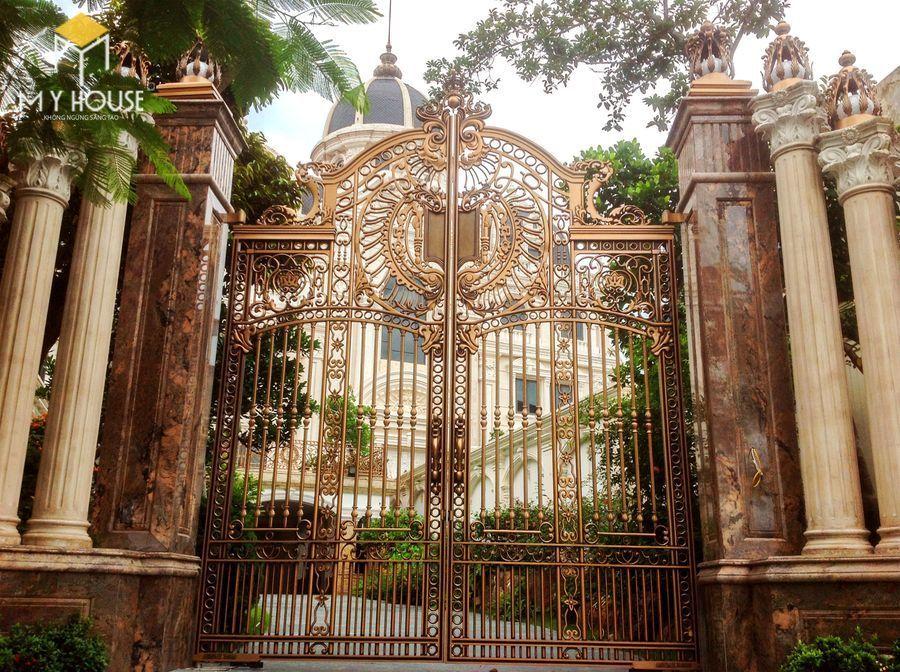 Thiết kế cổng lâu đài 13