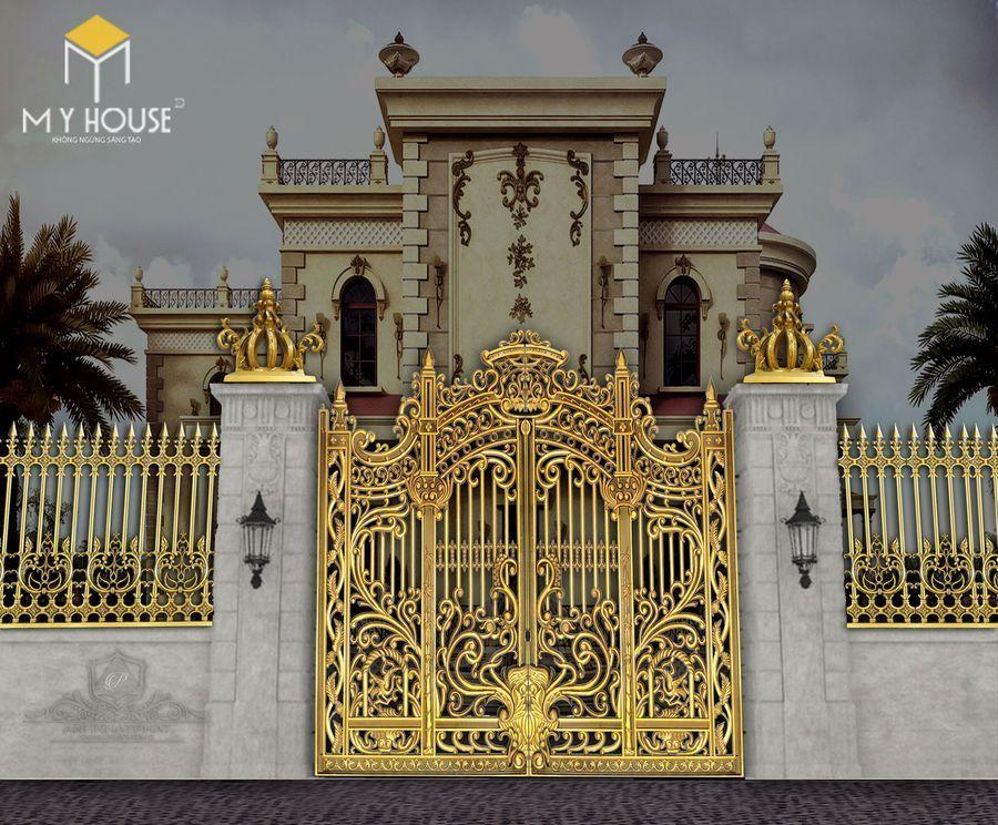 Thiết kế cổng lâu đài 14