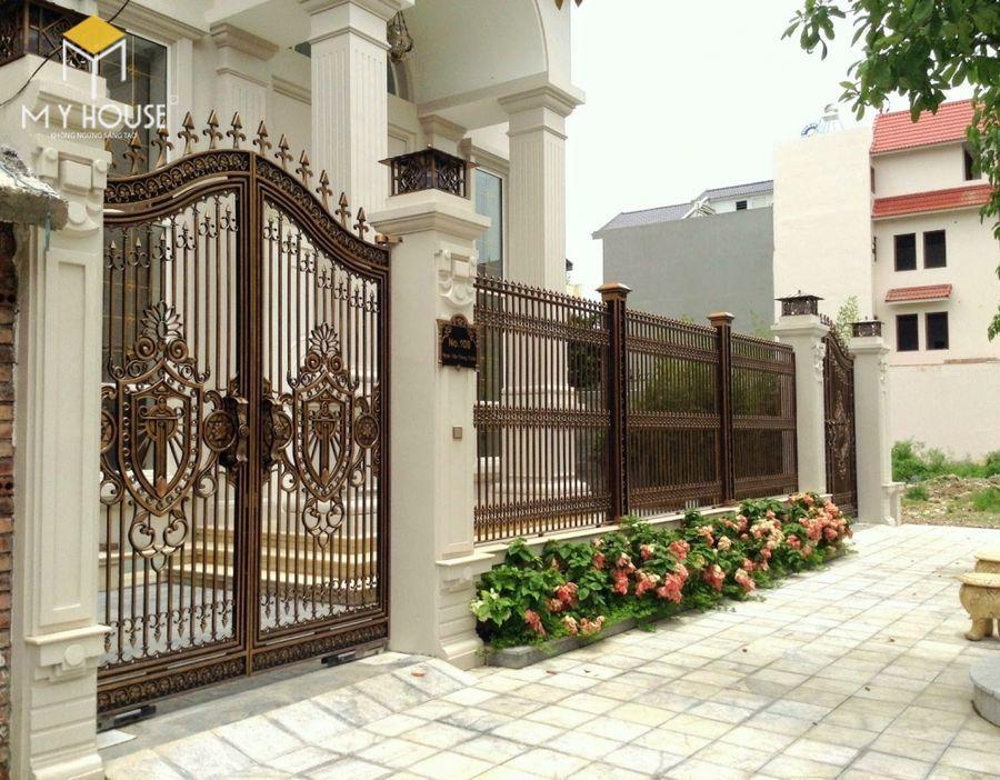 Thiết kế cổng lâu đài 15