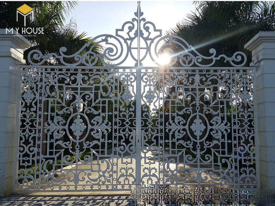 Thiết kế cổng lâu đài 10