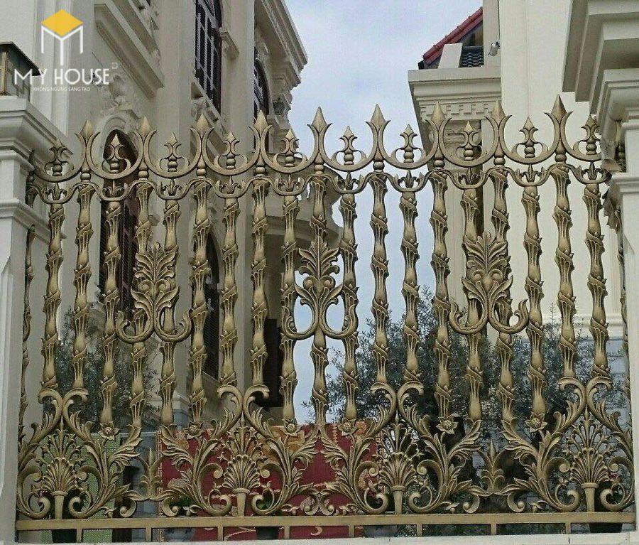 Thiết kế cổng lâu đài 9