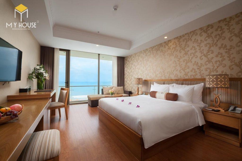 Gỗ là một chất liệu được sử dụng khá phổ biến trong các mẫu thiết nội thất khách sạn