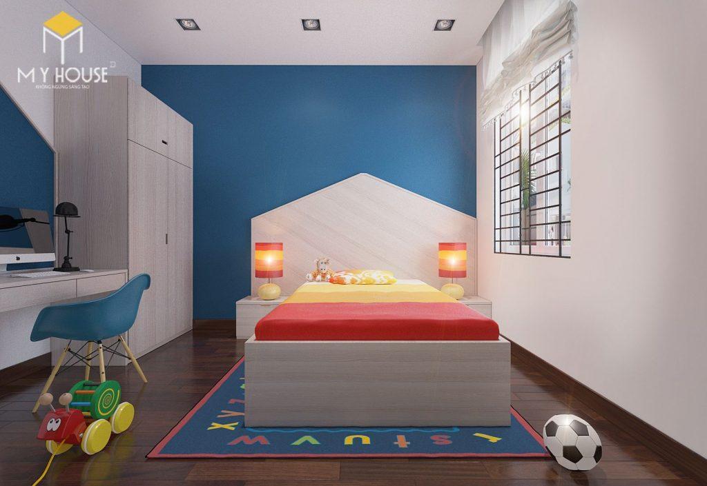 Thiết kế nội thất phòng ngủ con - View 1