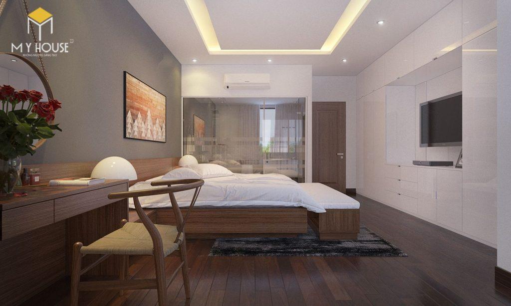 Thiết kế nội thất phòng ngủ master - View 2