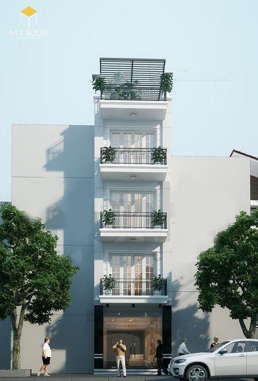 Nhà phố 4 tầng tân cổ điển sang trọng - View 2