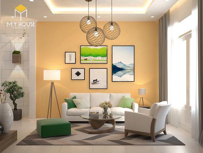 Thiết kế nội thất phòng khách - View 2