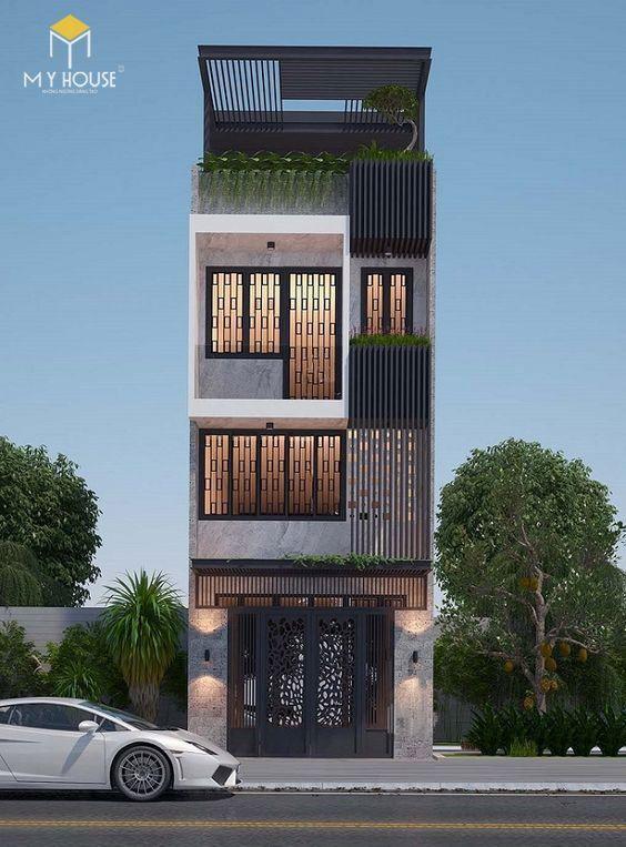Mẫu thiết kế 4 tầng hiện đại - View 7