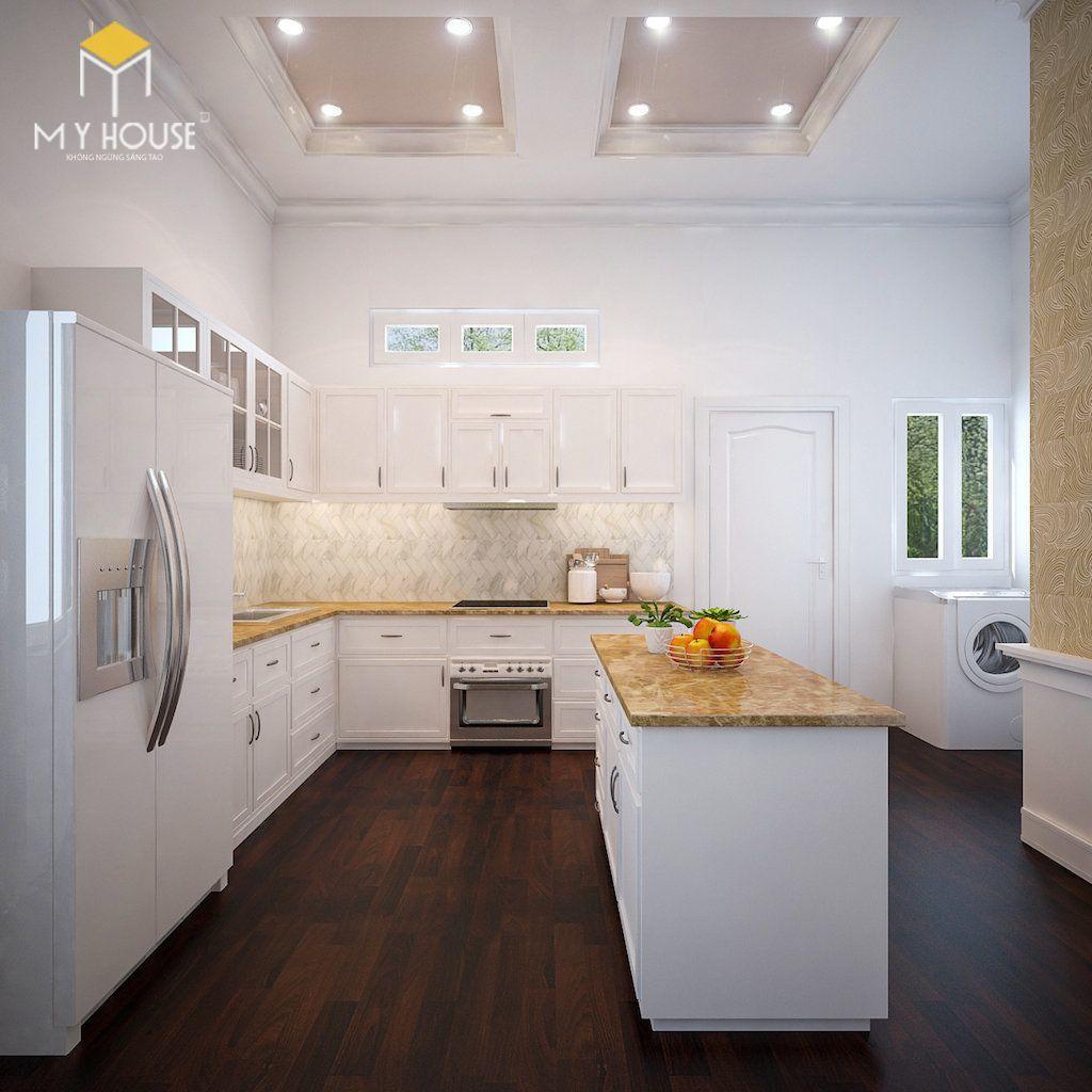 Nội thất phòng bếp tối giản - View 2