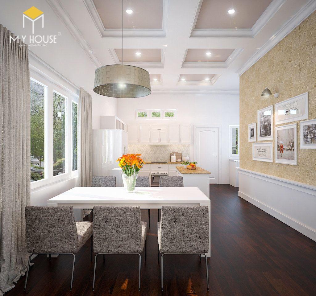Nội thất phòng bếp tối giản - View 1