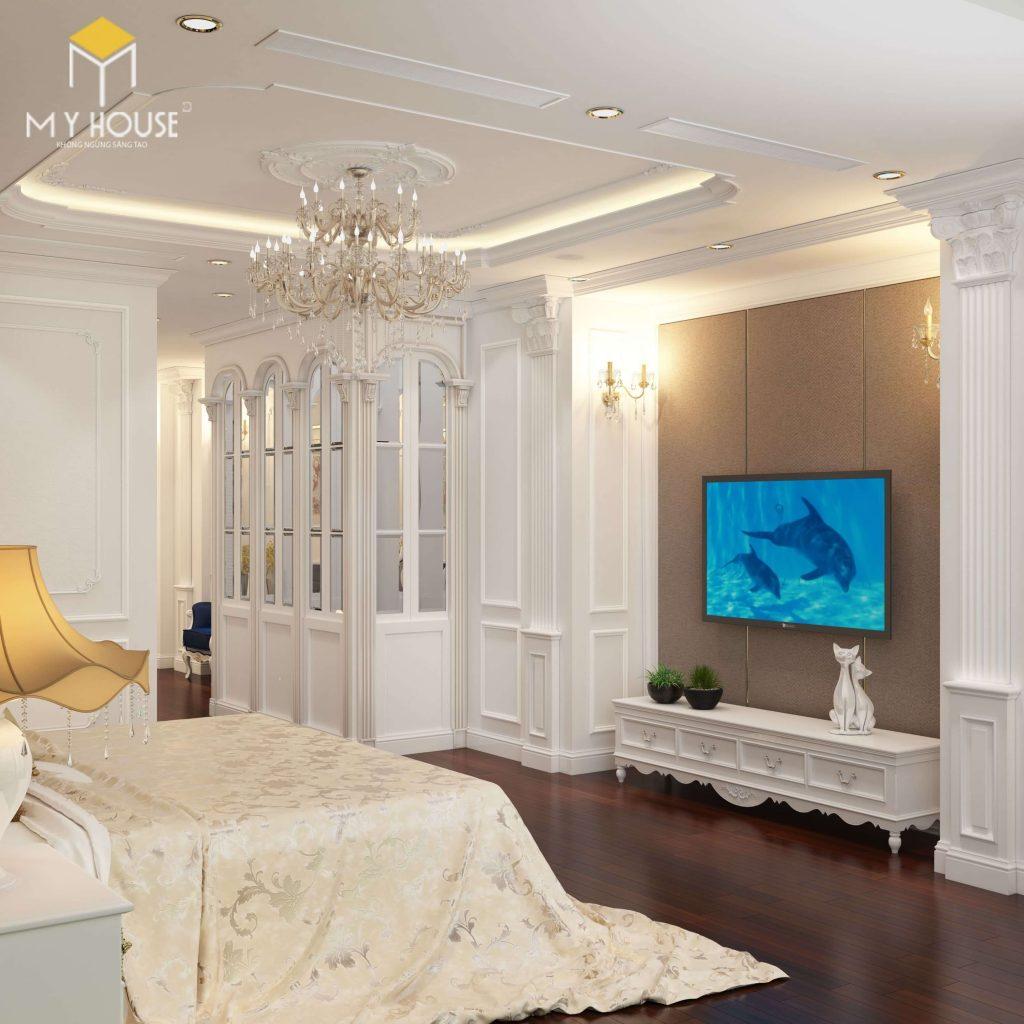 Nội thất phòng ngủ master - View 3