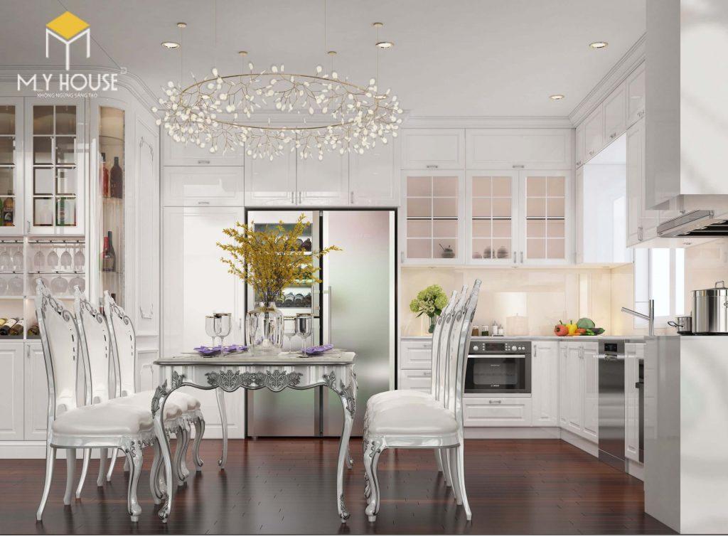Nội thất phòng bếp sang trọng - View 1