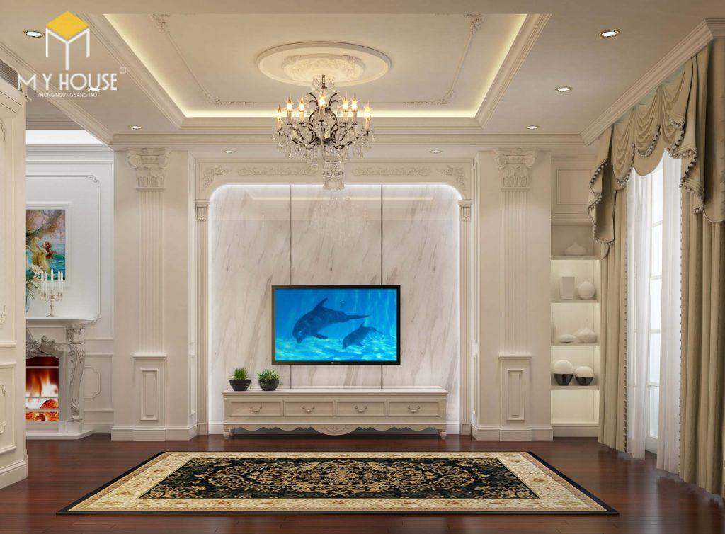 Thiết kế nội thất phòng khác tân cổ điển - View 2