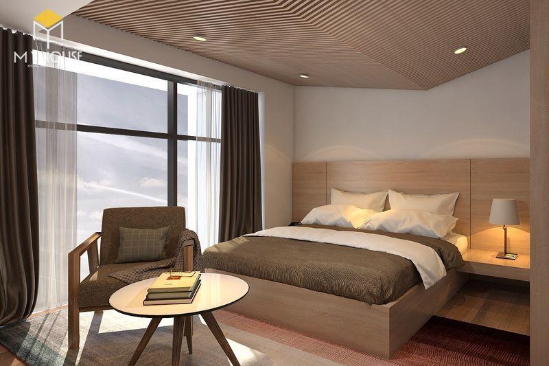 Phòng với đầy đủ nội thất đảm bào công năng - View 1