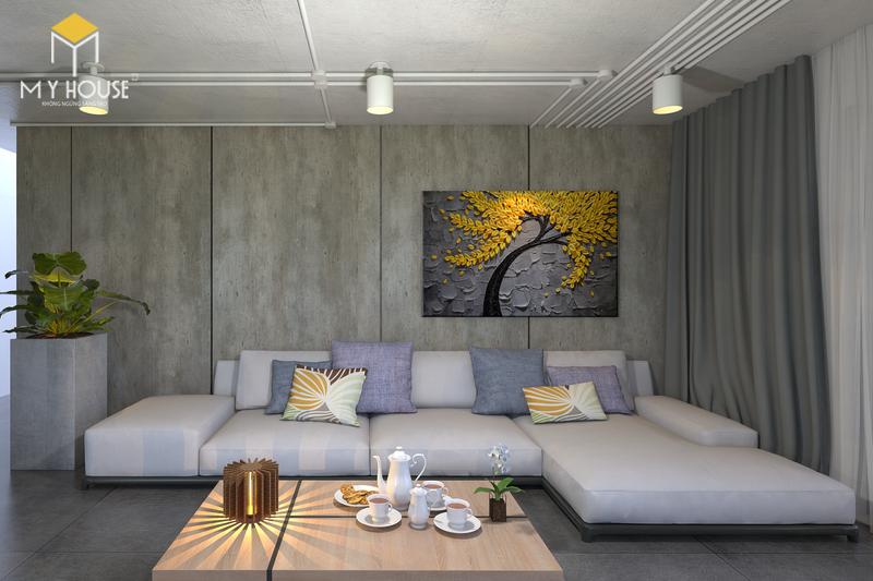 Bố trí nội thất quầy tiếp đón khách - View 1