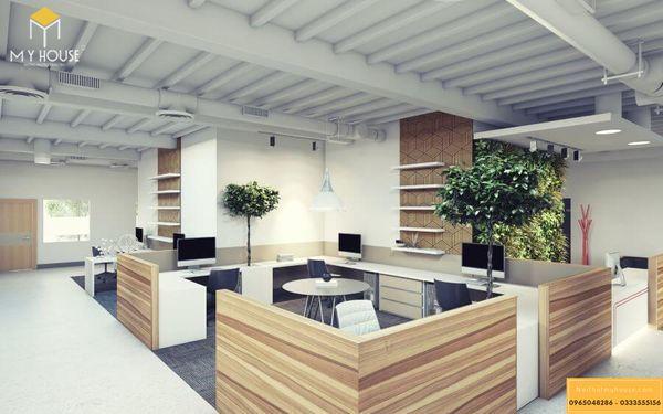 Trang trí nội thất văn phòng cho thuê hợp lý