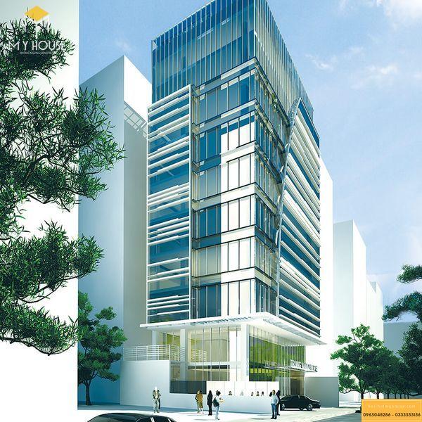 Mẫu thiết kế văn phòng cho thuê đẹp 2021 - Mẫu 3
