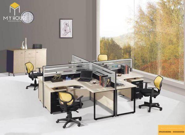 Phân chia không gian văn phòng cho thuê khoa học