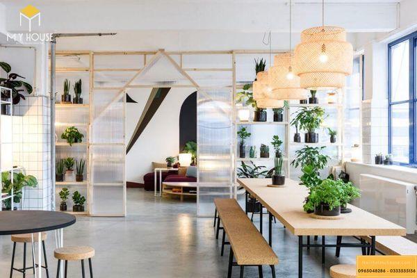 Mẫu thiết kế nội thất văn phòng cho thuê đẹp 2021 - Mẫu 1