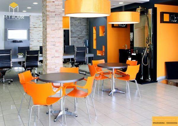 Mẫu thiết kế nội thất văn phòng cho thuê đẹp 2021 - Mẫu 3