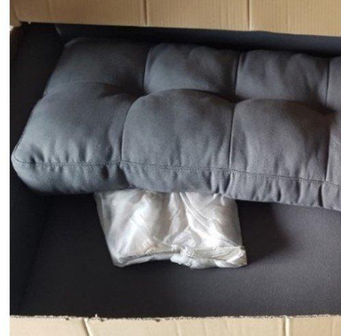 Chân tháo rời không quấn foam hoặc giấy kraft + phụ tùng rồi cho vào 1 hộp carton riêng -3