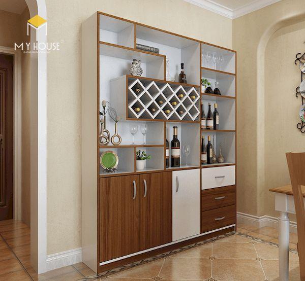 Tủ rượu trang trí phòng khách