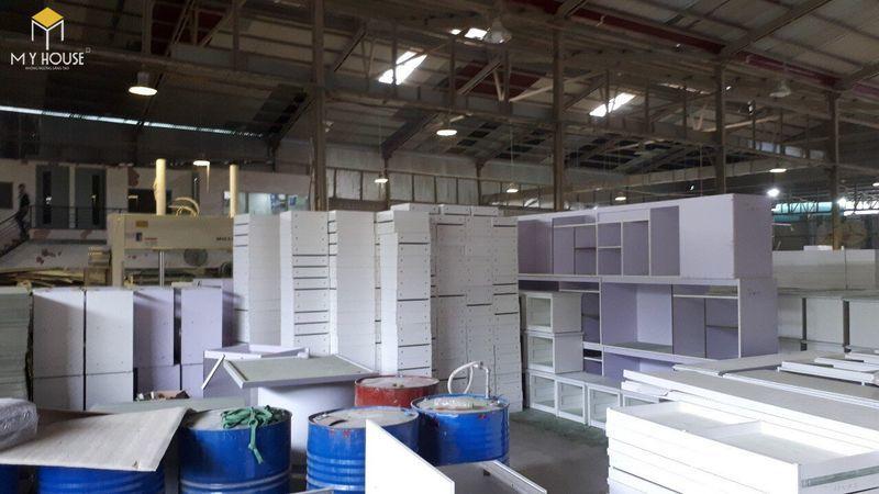 Hình ảnh xưởng đóng nội thất hội trường - View 5