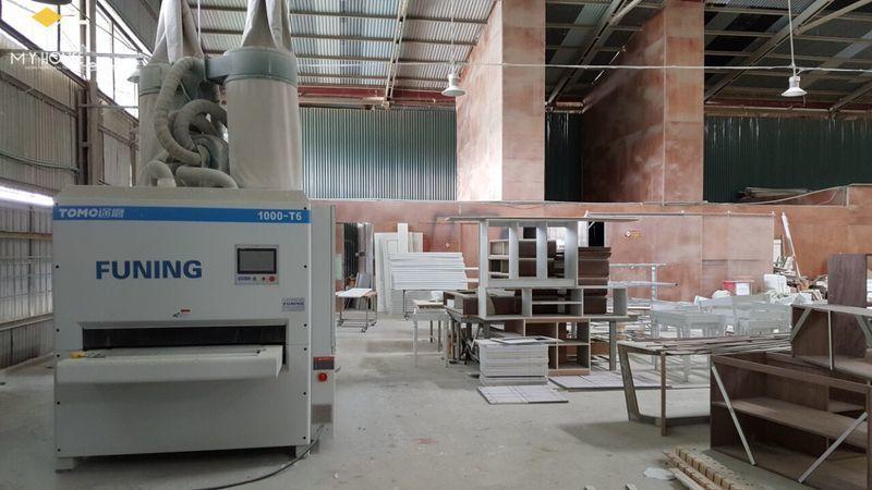 Hình ảnh xưởng đóng nội thất hội trường - View 3