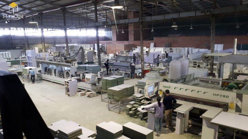 Hình ảnh xưởng đóng nội thất hội trường - View 9