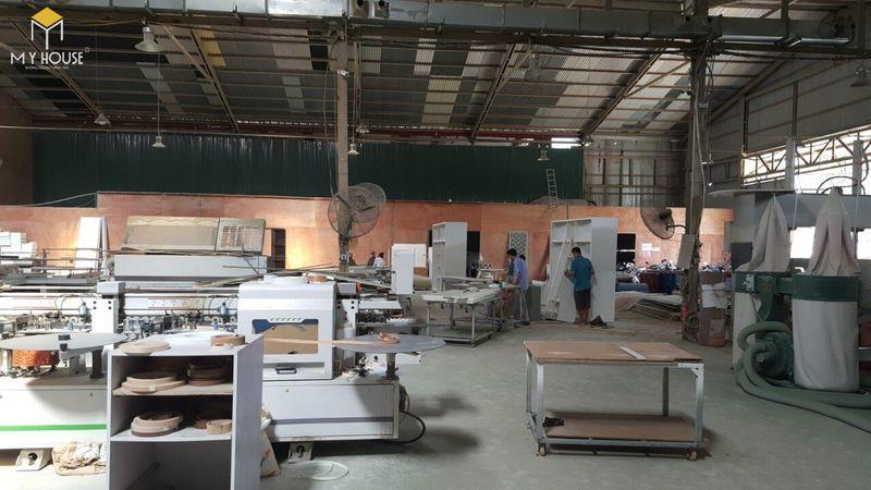 Hình ảnh xưởng đóng nội thất hội trường - View 8
