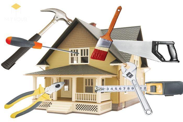 Hạng mục dự toán sửa chữa nhà
