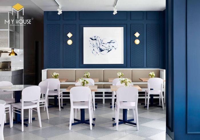 Thiết kế nội thất quán cafe hiện đại tinh tế - View 3
