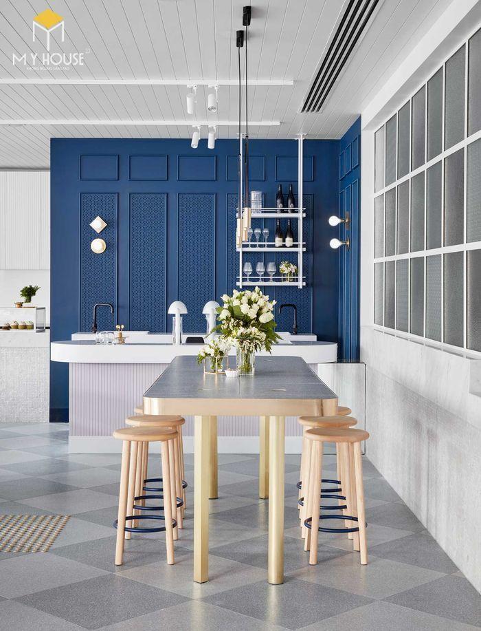 Thiết kế nội thất quán cafe hiện đại tinh tế - View 1