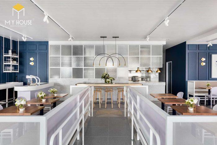 Thiết kế nội thất quán cafe hiện đại tinh tế - View 4