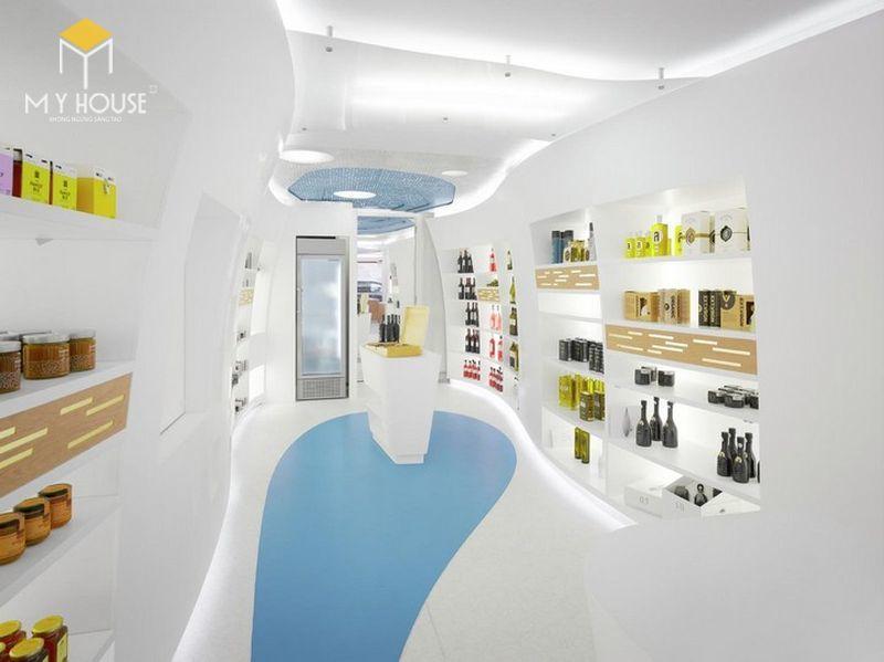 Thiết thế nội thất Showroom trưng bày giày cao cấp - View 3