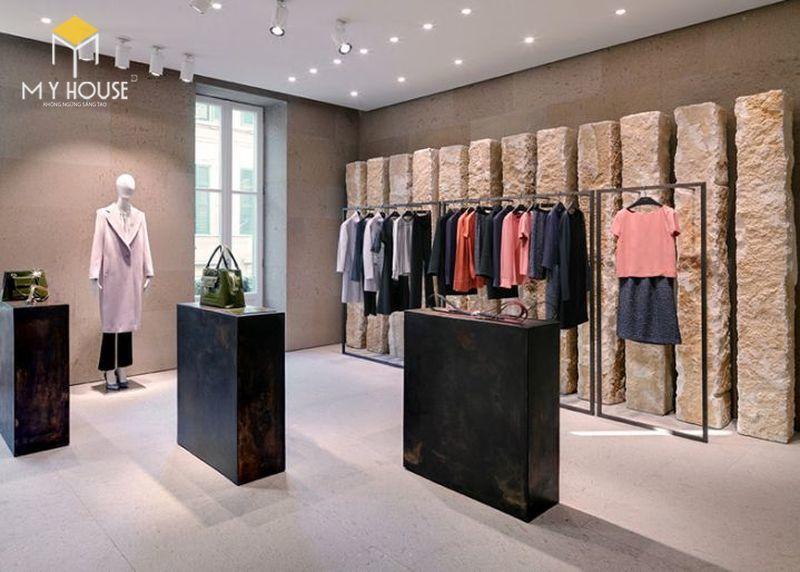 Cách bố trí nội thất shop quần áo - View 1