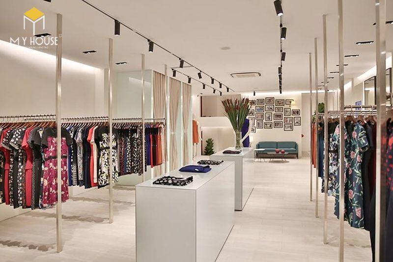 Cách bố trí nội thất shop quần áo - View 5