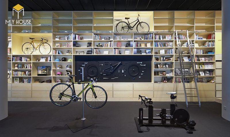 Thiết thế nội thất Showroom trưng bày xe đạp - View 1