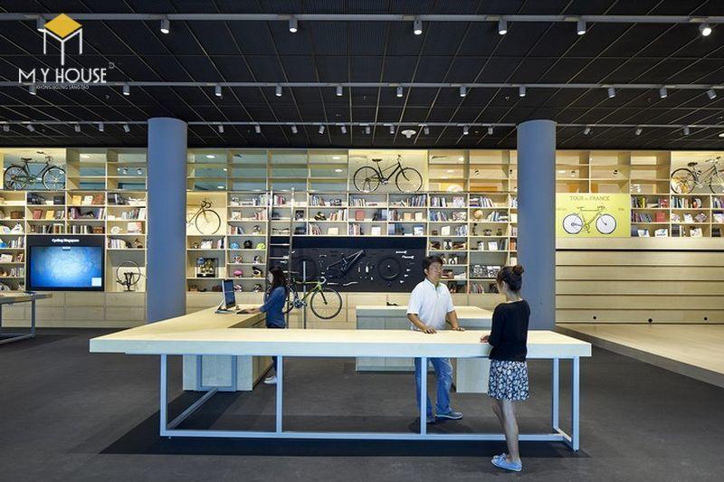 Thiết thế nội thất Showroom trưng bày xe đạp - View 2