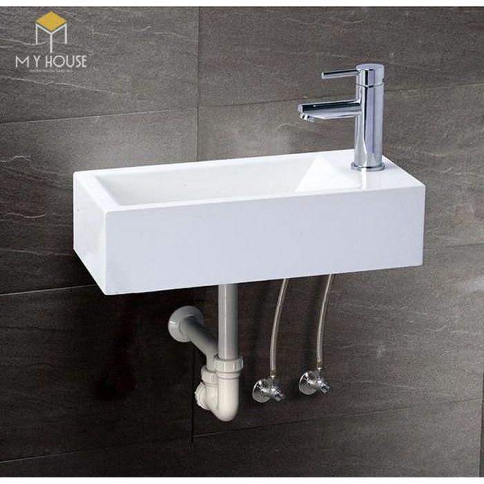 Lavabo là vật dụng đựng nước để rửa tay và được gắn cố định vào một bức tường
