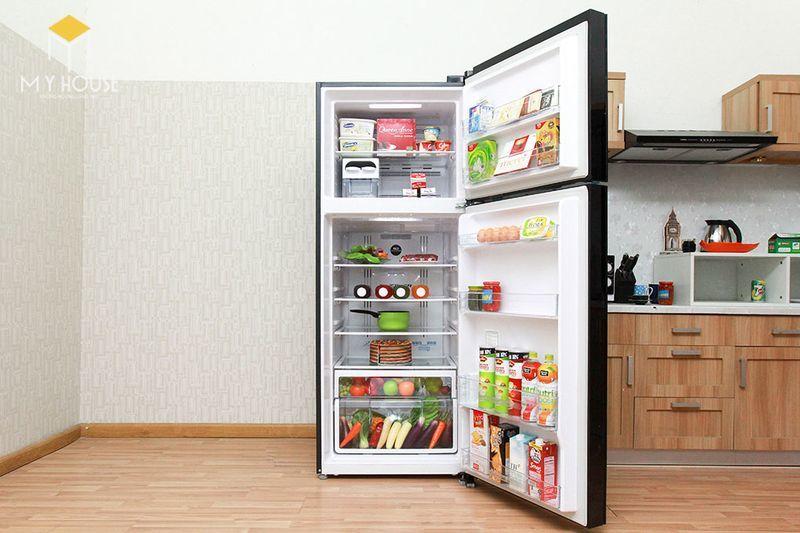 Kích thước tủ lạnh 1 cánh - Mẫu 5