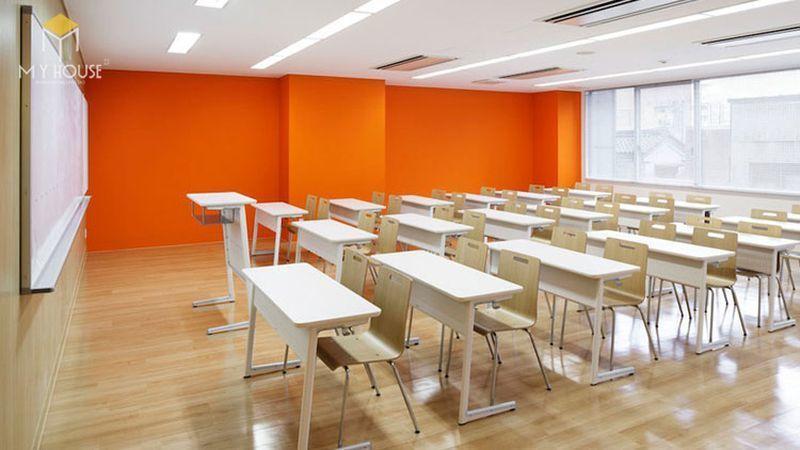 Thiết kế thi công nội thất trường học - Mẫu 2
