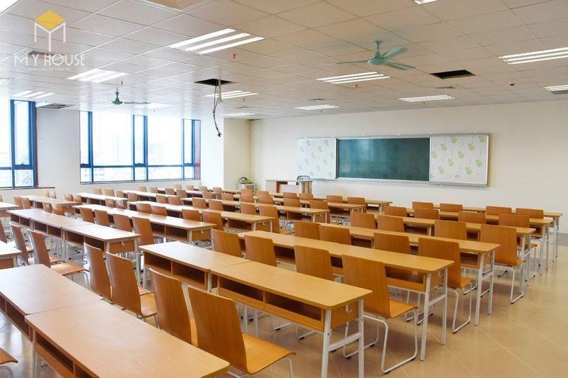 Thiết kế thi công nội thất trường học - Mẫu 3