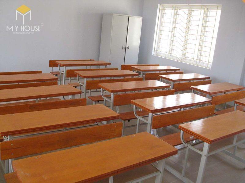 Thiết kế thi công nội thất trường học - Mẫu 4