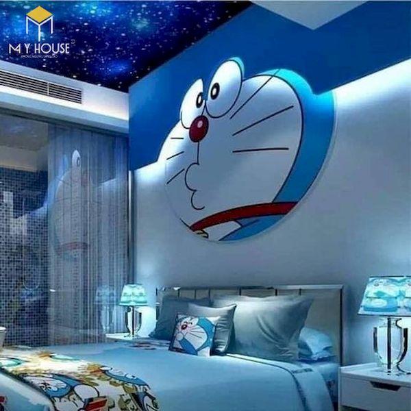Mẫu trang trí phòng ngủ doremon đẹp - 2